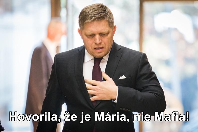 Hovorila, že je Mária, nie Mafia!