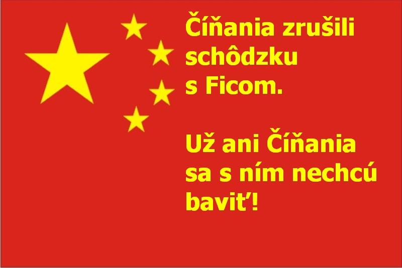 Číňania zrušili schôdzku s Ficom. Už ani Číňania sa s ním nechcú baviť!